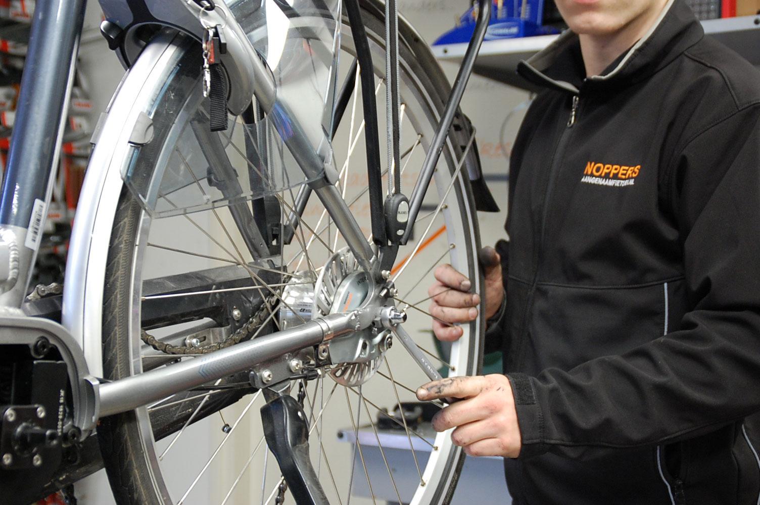 Aangenaam fietsen<br>het hele jaar door<br />