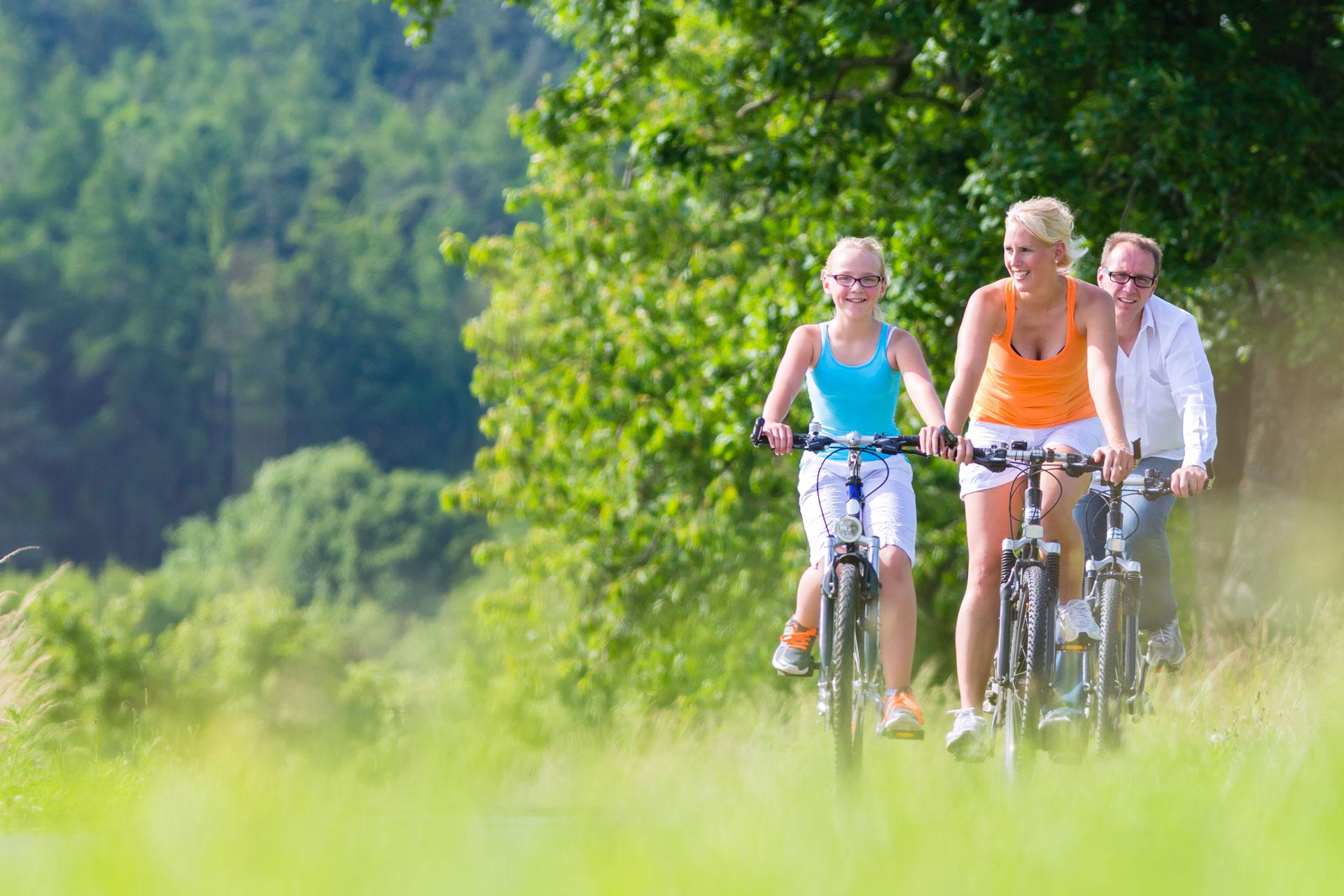 Aangenaam fietsen<br>voor jong en oud<br />